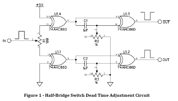 Half Bridge Dead-Time Adjustment Circuit